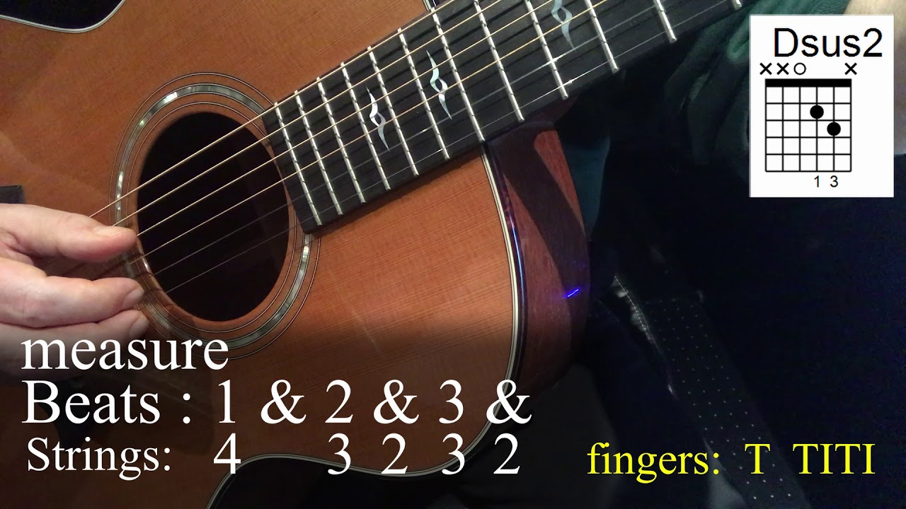 How to Play Paradise- John Prine Fingerpicking (instead of strumming)