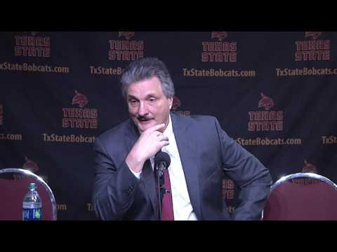 Texas State MBB Post Game Press Conference vs South Alabama - Danny Kaspar