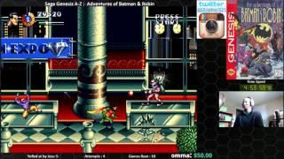 Sega Genesis A Z : Adventures Of Batman & Robin (journey To Beat Every Sega Genesis Game) Day 2