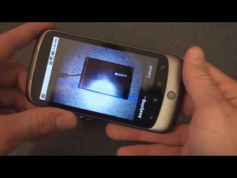Google Goggles on the Nexus One