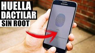 Huella Dactilar Para Cualquier Teléfono Android Sin Root 2018!