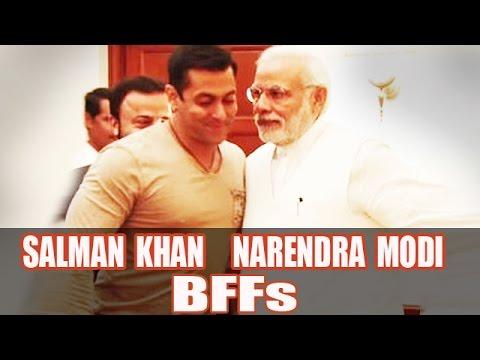 5 Reasons Why Narendra Modi & Salman Khan Can Be Best Friends