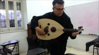 Oud Taksim By Habib Al Deek - Oud made by Bulent Eryalman