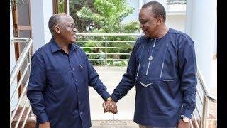 Uhuru unleashed full-on charm on Magufuli