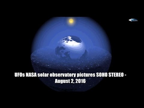 UFOs NASA solar observatory pictures SOHO STEREO - August 2, 2016