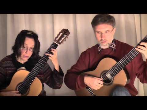 C.und M. Horand spielen Mozart