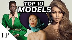 Top 10 FEMALE MODELS in 2020