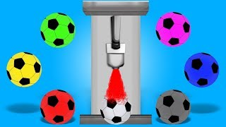 Soccer Ball Colors | Educational Video | Video for Kids and Toddlers