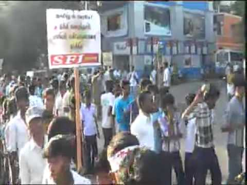 SFI TAMILNADU STATE COMMITTEE 23rd CONFERENCE, CHENNAI - RALLY