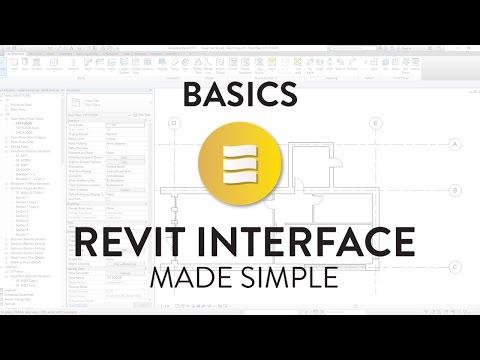 Revit Basics Tutorial: User Interface
