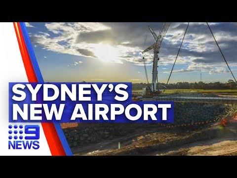 Huge Step For New Western Sydney Airport   Nine News Australia