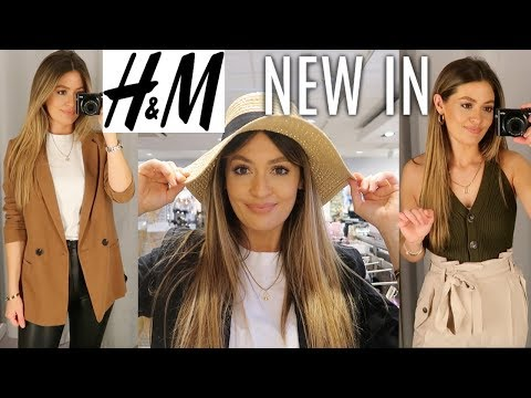 NEW IN H&M | COME SHOPPING WITH ME | SPRING HAUL