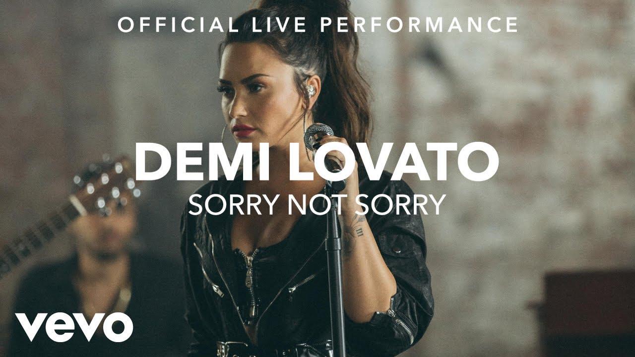 Demi Lovato - Sorry Not Sorry (Vevo X Demi Lovato) #1