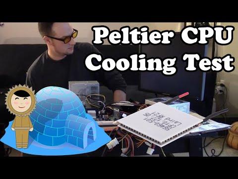 💻 Peltier CPU Cooling Test (Dr. NOOB's Lab)