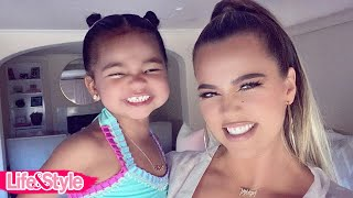 Khloe Kardashian Is Keeping Daughter True Thompson 'super Busy' Amid Quarantine