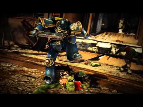 Warhammer 40K  Space Marine - Official Gamescom Trailer
