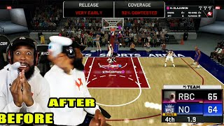 1.9 Seconds Left In 1 Point Game! I Threw My Controller! NBA 2K20