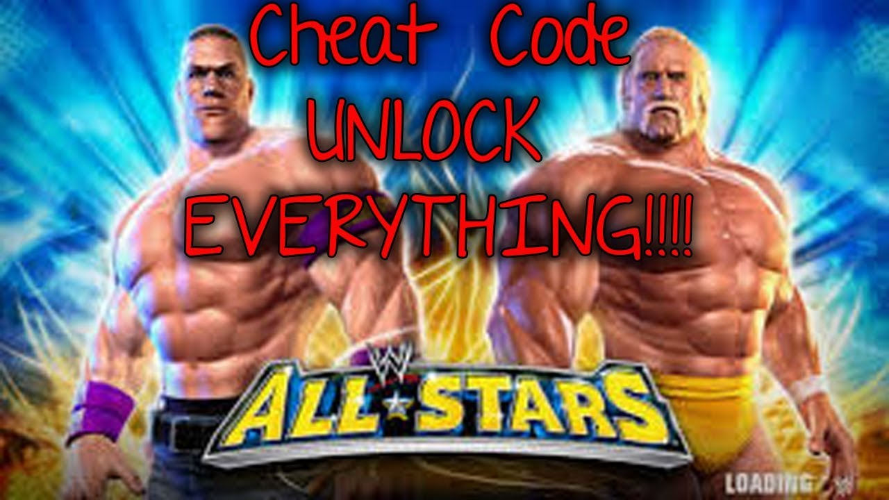 WWE ALL STARS <b>CHEAT CODE</b> - UNLOCK EVERYTHING <b>PPSSPP</b>! - YouTube