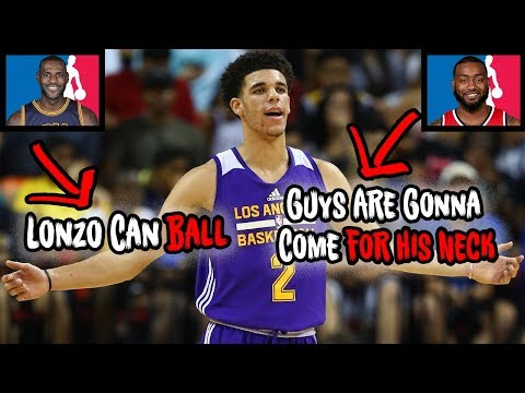 What NBA Stars Think About Lonzo Ball Before His Rookie Year