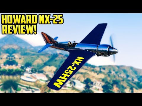 GTA Online  NEW Plane Howard NX25 Review  Should You Buy It?