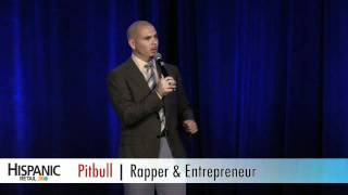 Rapper Pitbull: 2011 Hispanic Retail 360 Summit