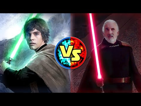 Download Youtube: Star Wars Versus: Luke Skywalker VS. Count Dooku - Star Wars Basis Versus #9