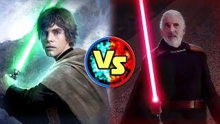 Star Wars Versus: Luke Skywalker VS. Count Dooku - Star Wars Basis Versus #9