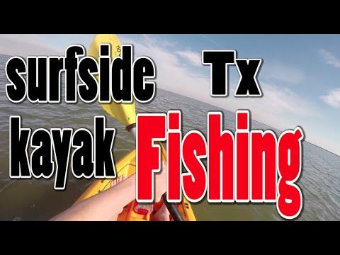 Kayak fishing surfside texas flounder specs sting rays for Fishing report surfside tx