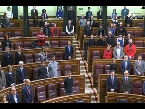 El Congreso guarda un minuto de silencio por José Antonio Alonso