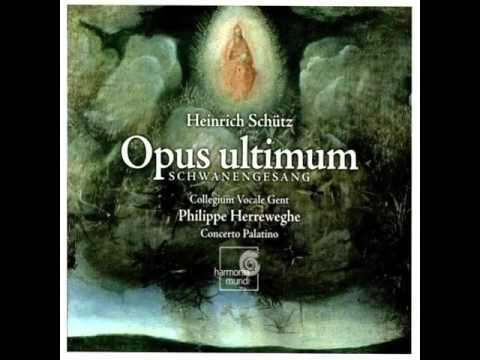 Schutz: Opus Ultimum 1/ Philippe Herreweghe