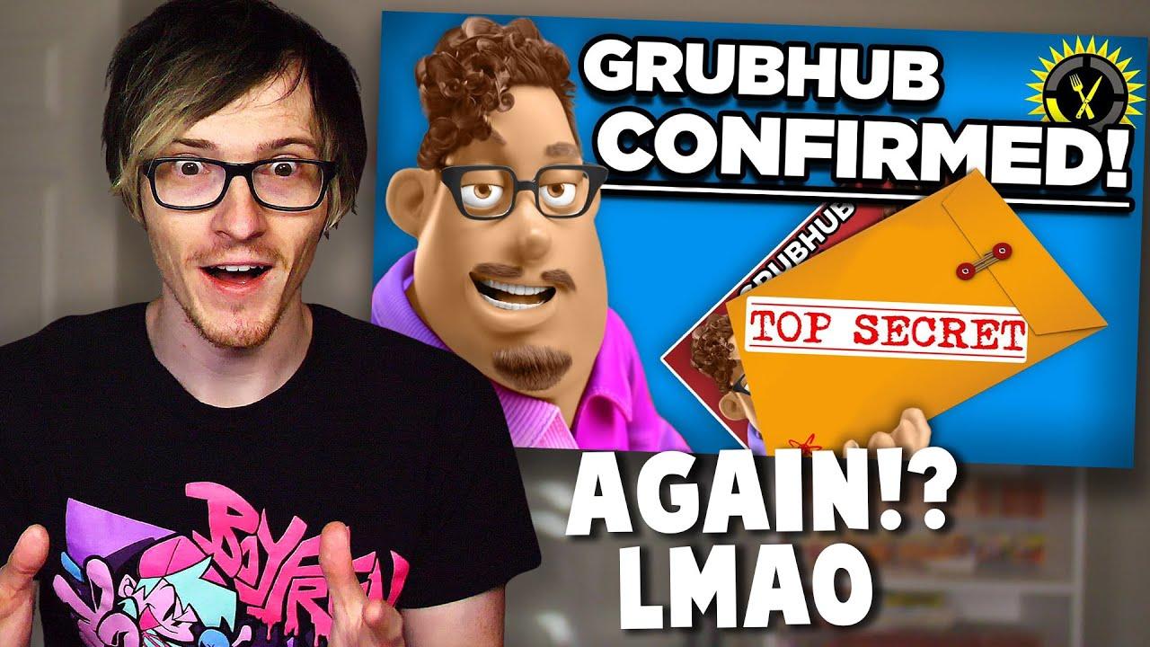 Grub hub has responded to the theories... Grubhub Food Theory Reaction