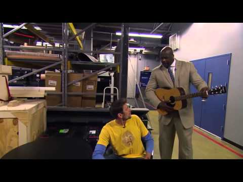 Inside the NBA  Shaq Smashes Brent Barry