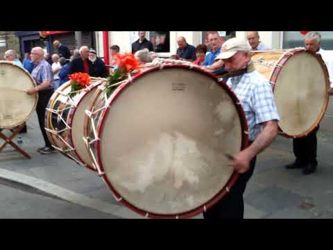 Lambeg drums in