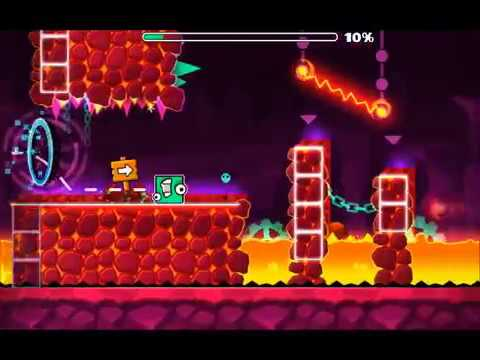 Fingerdash but there is no trigger and music is 8bit