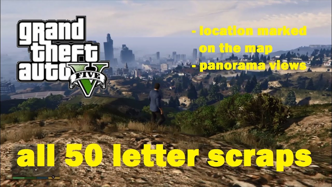 Letter Scraps #1 - #10 - Grand Theft Auto 5 - Gta 5 letter