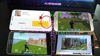 ✔️ YA LISTO! FORTNITE ANDROID DISPOSITIVOS CON  2GB DE RAM GAMA MEDIA YA AGREGADOS OFICIAL?