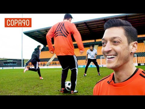 Mesut Ozil Assist Masterclass! | How To Train Like A Pro