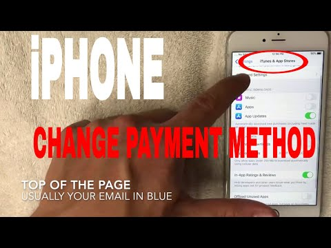 ✅  How To Change iPhone Payment Method 🔴
