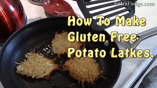 how to make healthy latkes