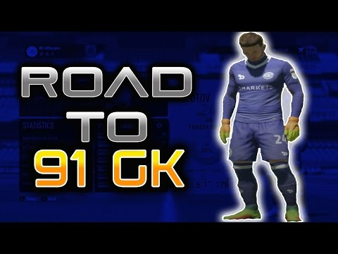 FIFA 17 Pro Clubs Goalkeeper | Road To 91 GK E1