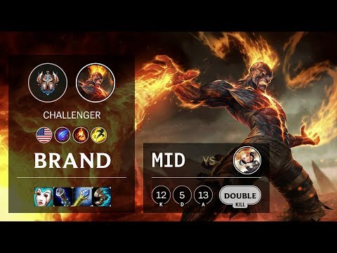 Brand Mid Vs Lux - NA Challenger Patch 10.8