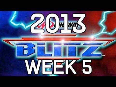 The 2013 NFL Season BLITZIFIED! Week 5