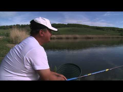 Pescuit cu varga alături de Benzar Zsolt