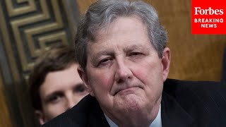 John Kennedy Blames Biden's Border Policy Changes For Current Surge Of Migrants