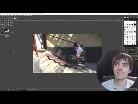 How to edit a image for the website in GIMP thumbnail