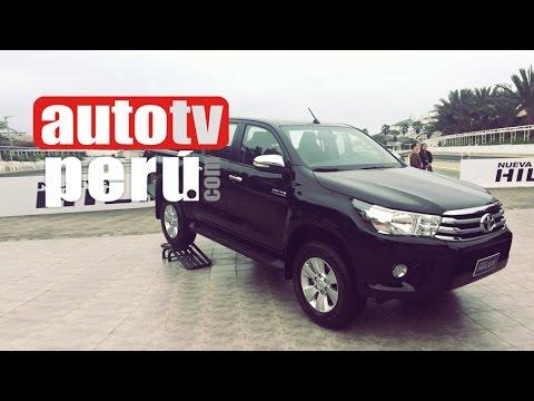 7fce24441 Auto 2015   Nueva Toyota Hilux 2016 en el Perú - YouTube
