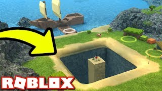 Digging for TREASURE in Booga Booga!! - Roblox