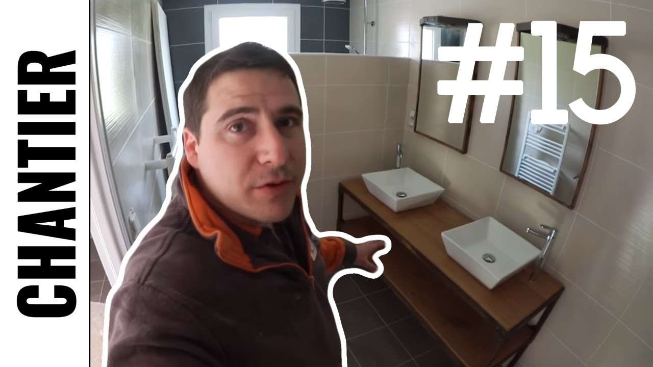 salle de bain n 2 suite et fin ljvs youtube. Black Bedroom Furniture Sets. Home Design Ideas