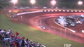 138 MPH qualifying lap at Rome Speedway,Rome Ga 6/15/14