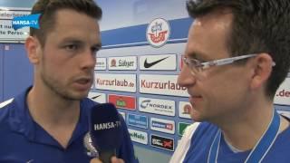 Interviews nach dem Jubiläumsspiel gegen Union Berlin
